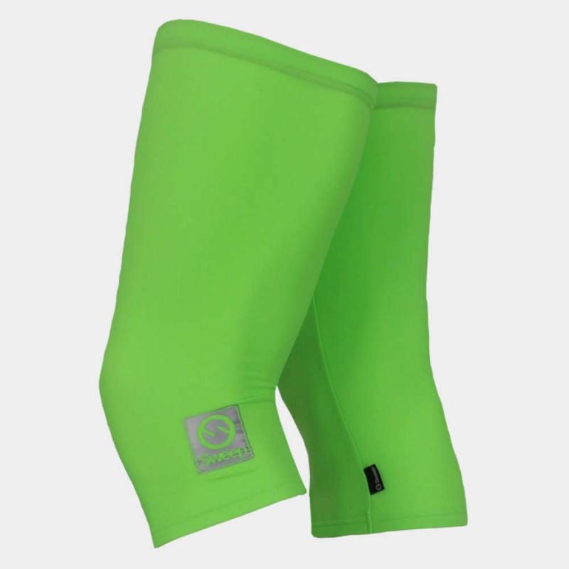 Sweep    Cyklistické návleky na kolena CYKLO-N014 zelené fluo c775e33bf3