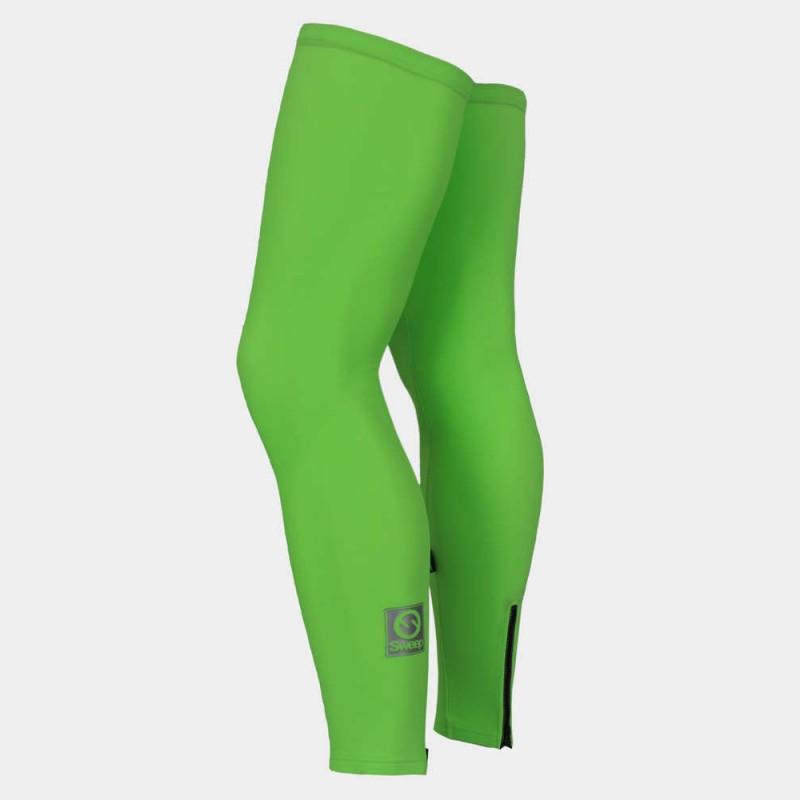 Sweep    Cyklistické návleky na nohy CYKLO-N015 zelené fluo c54d01450d