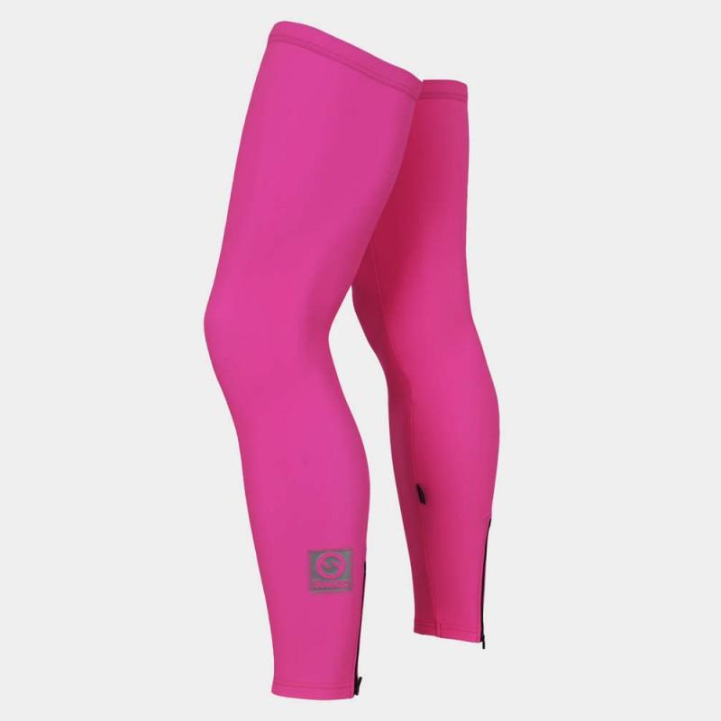 Sweep    Cyklistické návleky na nohy CYKLO-N015 růžové fluo 49cfc11bf8
