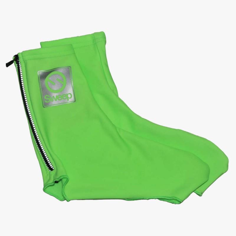 Sweep    Cyklistické návleky na tretry CYKLO-N016 zelené fluo 3a3c68f016