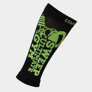Kompresní běžecké návleky na ruce a nohy SWEEP35 černo žluté fluo 52a5ebdb7e