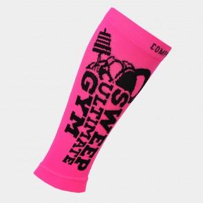 Kompresní běžecké návleky na ruce a nohy SWEEP35 růžovo černé e567daa310