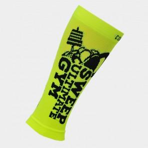 Kompresní běžecké návleky na ruce a nohy SWEEP35 žluté fluo černé 6c3857529a